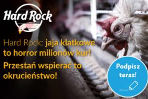 Fundacja Alberta Schweitzera wkampanii przeciwko Hard Rock